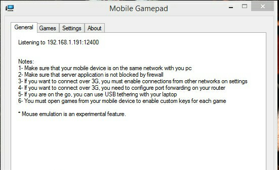 How to use your Android phone as a gamepad for pc