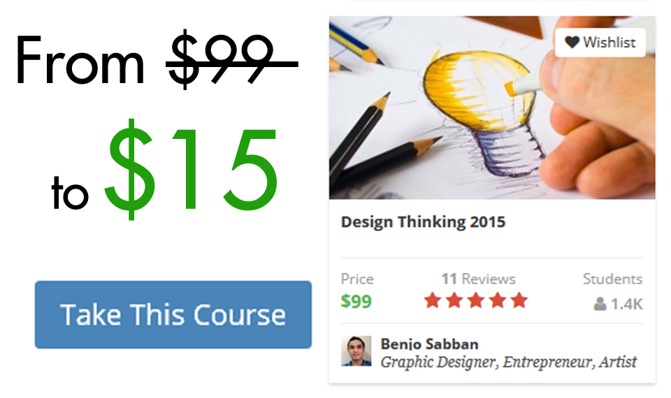 Design Thinking 15 85% OFF Coupon
