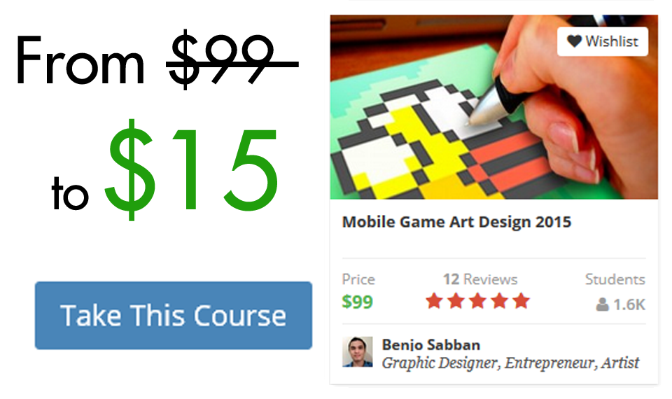 Mobile Game Art Design 2015 85% OFF Coupon