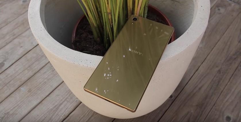 Sony Xperia Z5 Premium Design