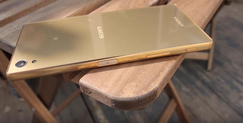 Sony Xperia Z5 Premium fingerprint scanner
