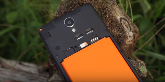 Xiaomi Redmi Note 2 battery Removable