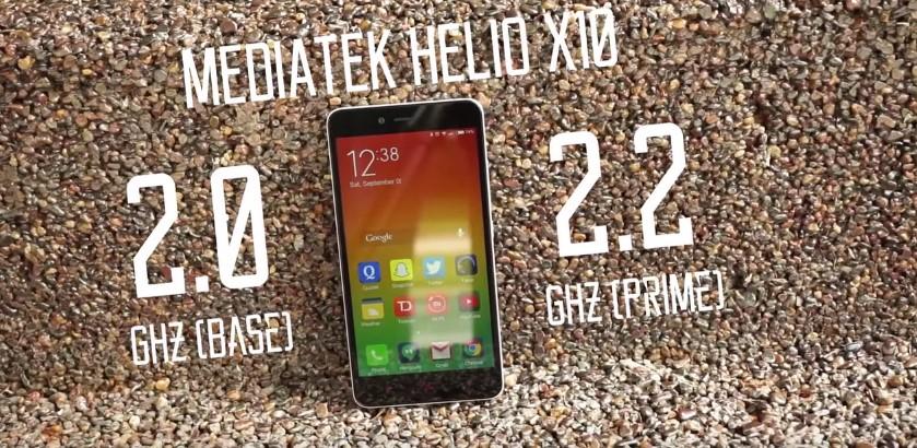 Xiaomi redmi Note 2 Processor Frequency