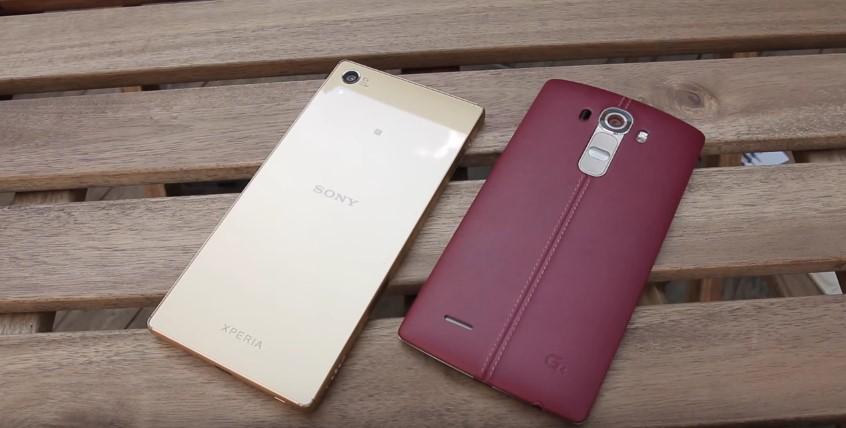 Xperia Z5 vs LG G4