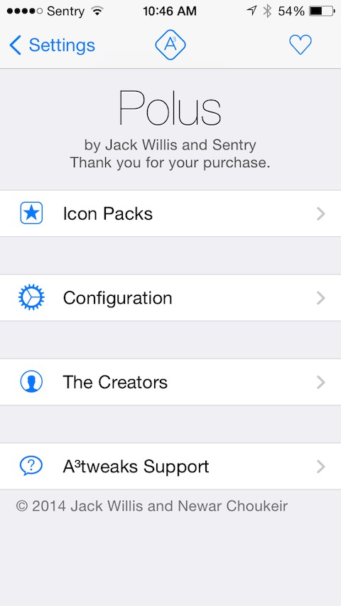 Polus updated for iOS 9