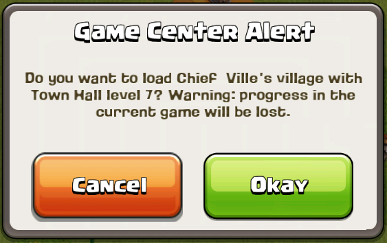 How do i get my clash of clans account back