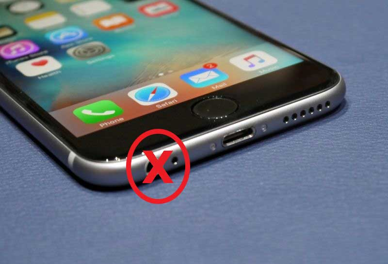 iPhone 7 without a Headphone Jack