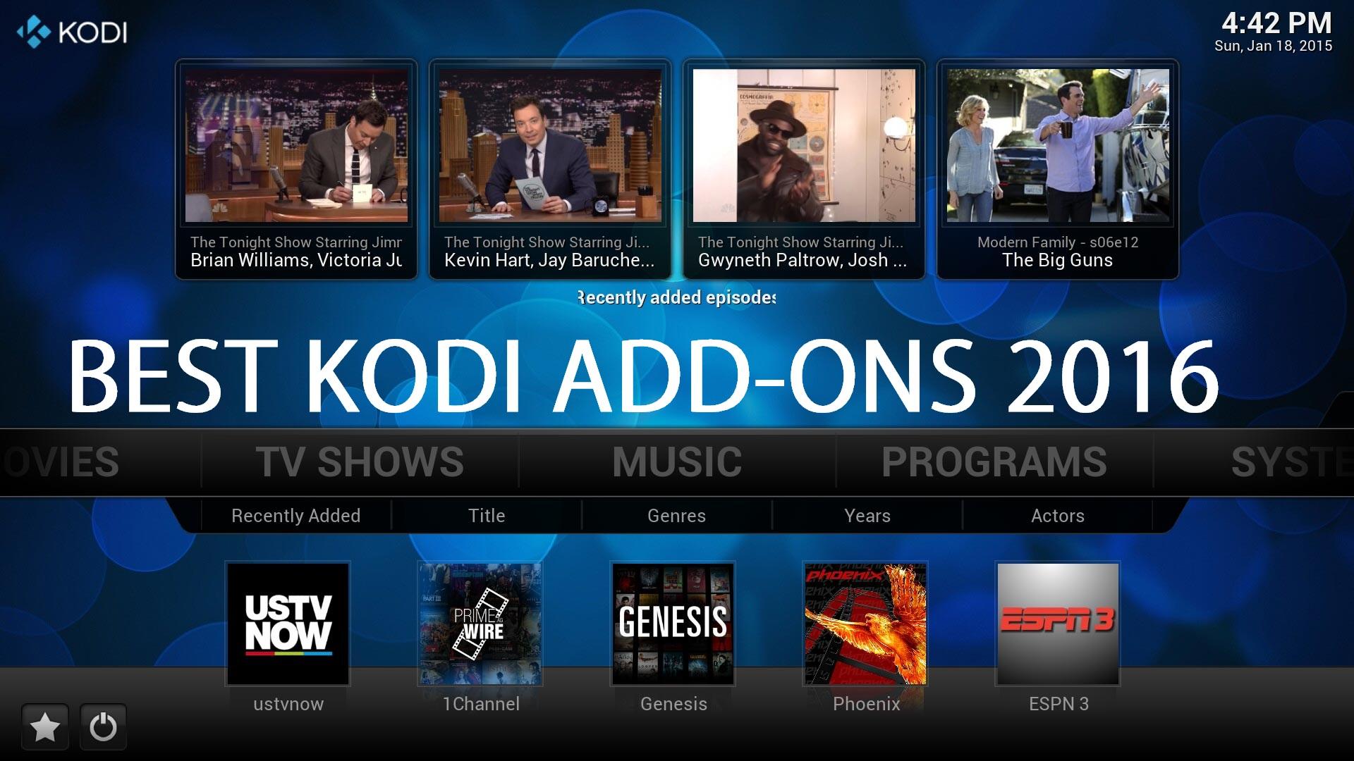 Top Kodi Add-ons - watch free movies - Dr.Geeky