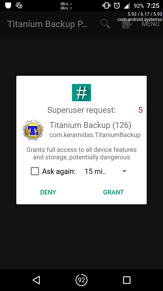 change custom rom without losing data