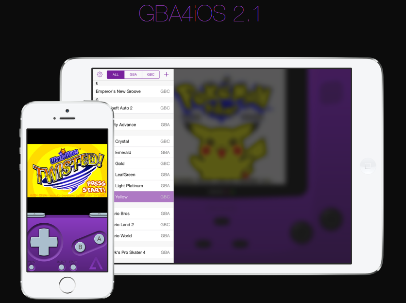 GBA4iOS without Jailbreak Free Game Boy Emulator for iOS 9 - Rev Kid
