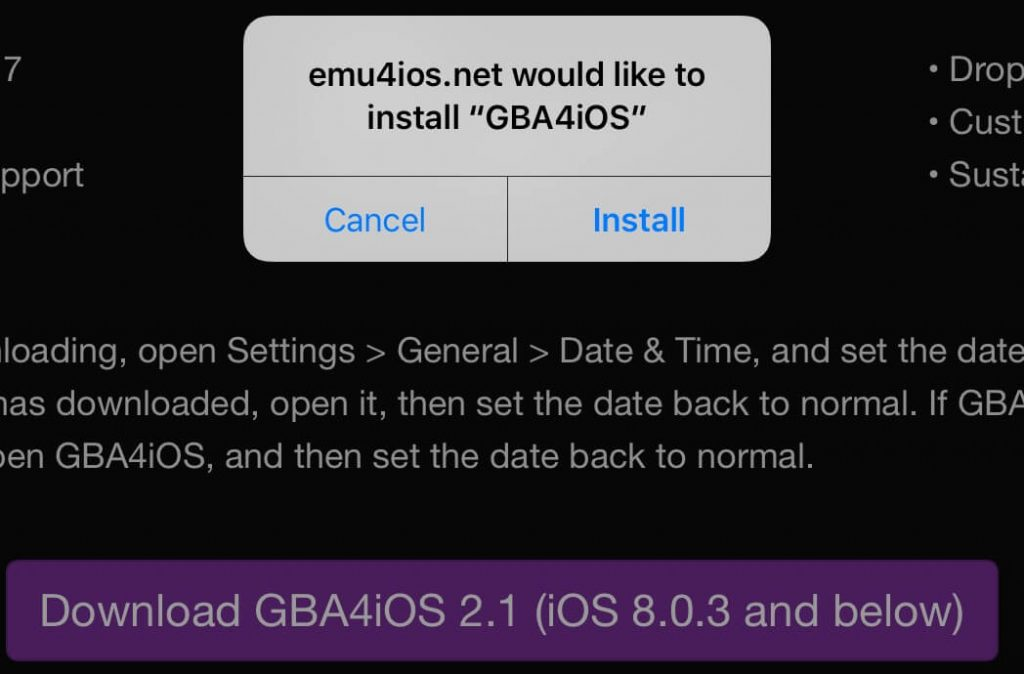 GBA4iOS without Jailbreak