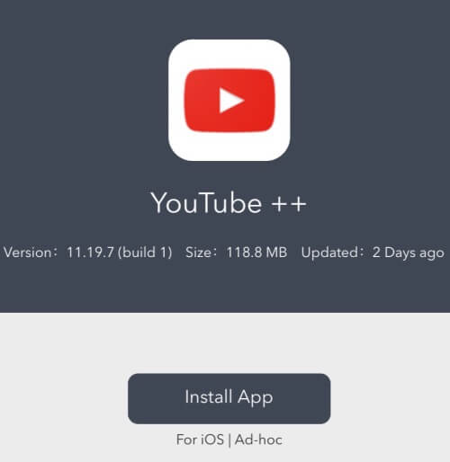Download youtube videos in iPhone without jailbreak using Youtube++