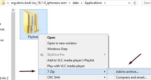 Convert any  deb into  ipa file for sideloading - Windows - Rev Kid