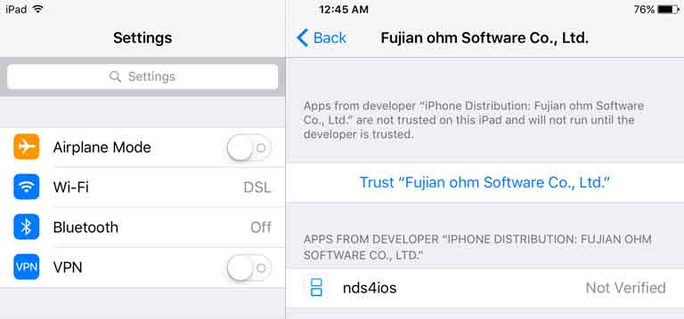 nds4ios download on iOS 9 and 10 without jailbreak