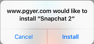 install 2 snapchats on iphone without jailbreak