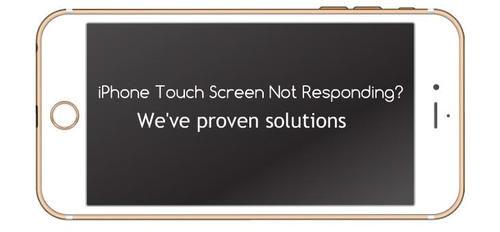 iPhone touch screen not responding error