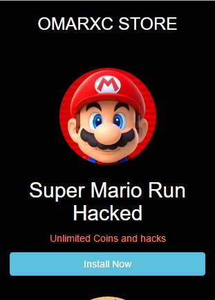 Super Mario Run Hack paid version iOS 9/10 No Jailbreak Free Download