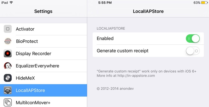 Localiapstore hack in-app purchases ios 9/10 for free