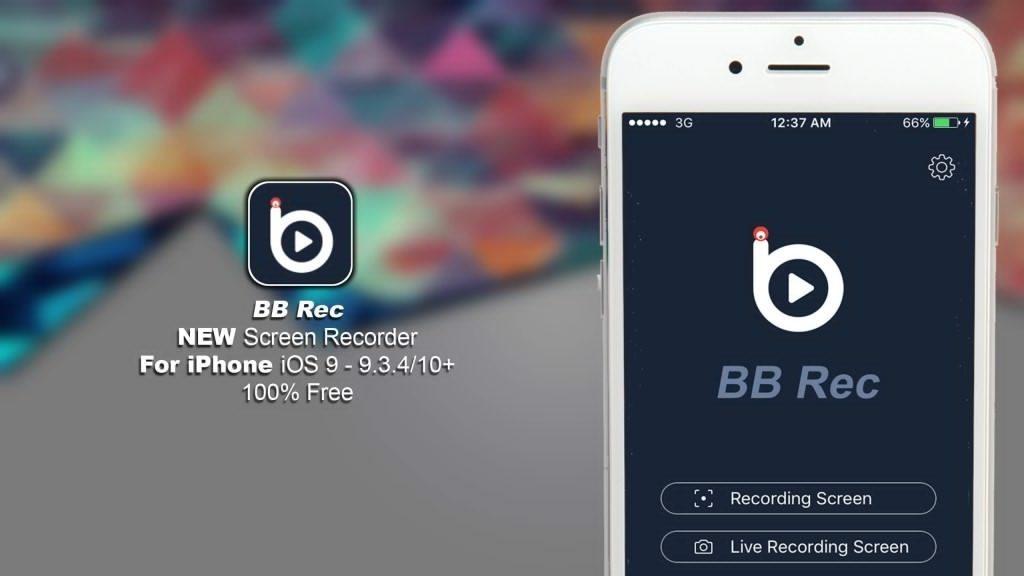 BB rec download iphone screen recorder without jailbreak