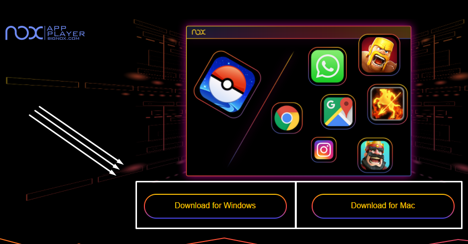 Play pokemon go on PC using Nox App Player