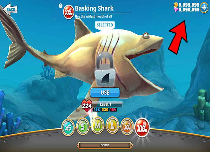 descargar hungry shark evolution hack