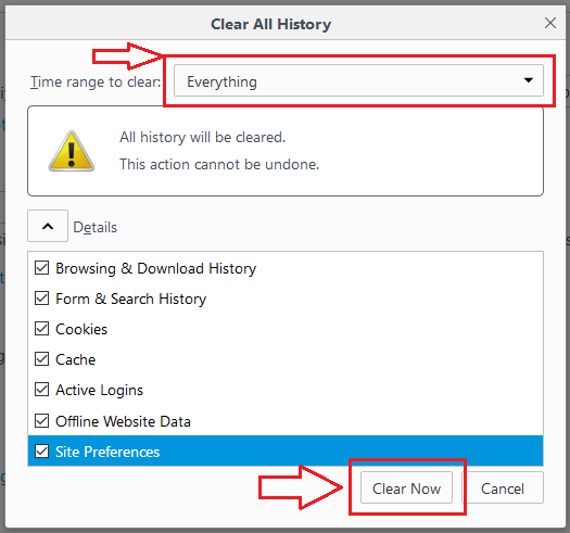 how to fix interent disconnected error in firefox