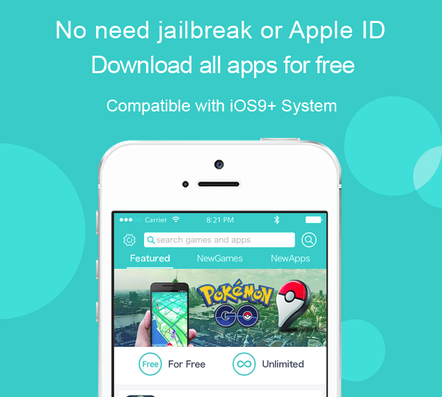 Install hacked paid games and apps in iOS 9/10 without jailbreak