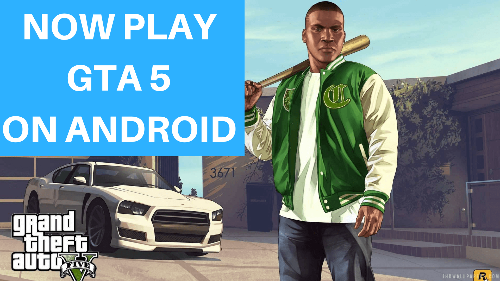 NOW PLAY GTA 5 ON ANDROID