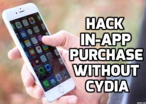hack in-app purchase without cydia