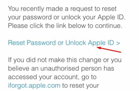 unlock apple id that is locked