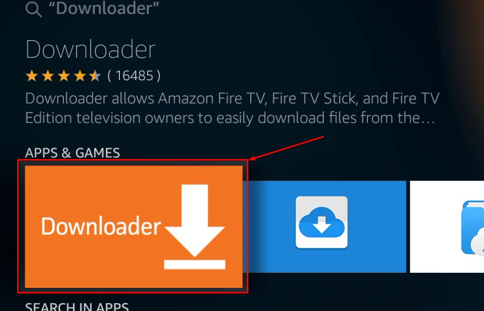 app store for fire tv stick