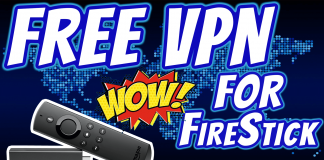Free vpn for Fire Stick Tv