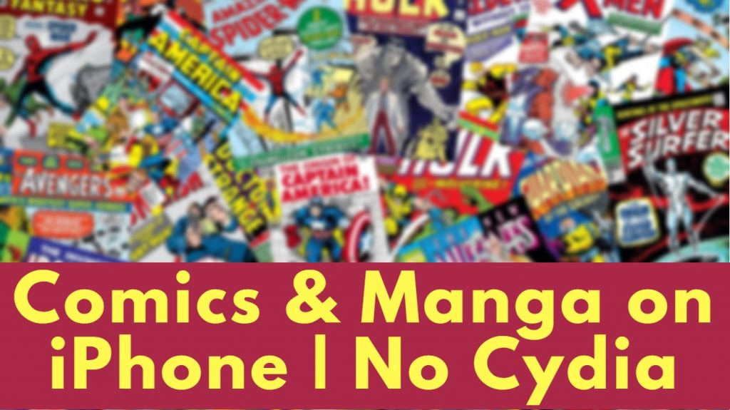 free comic books and manga on iPhone iOS 12 no cydia