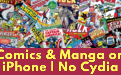 free comic books and manga on iPhone iOS 12 no cydia