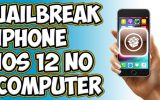 Jailbreak iPhone 5s 6 iOS 12 without computer
