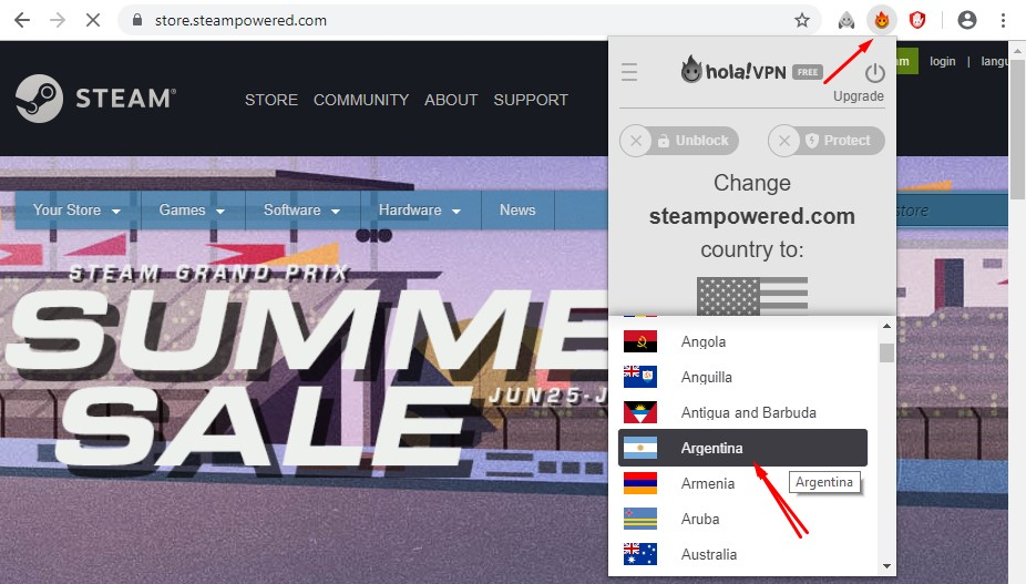 change steam region for cheaper games