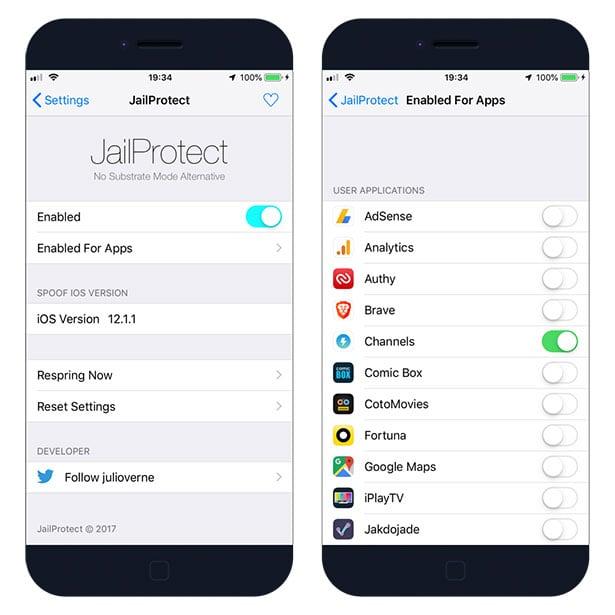 bypass jailbreak detection iOS 12 2019