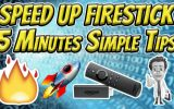How to Speed up Amazon Fire TV Stick