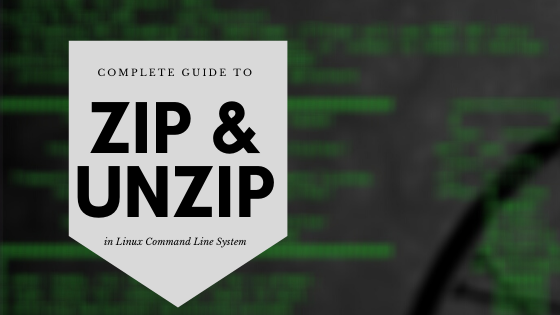 how to compress zip and extract zip in linux vps command line